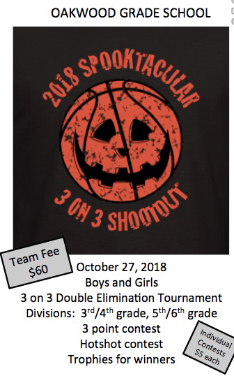 OGS 3 on 3 uniform fundraiser.