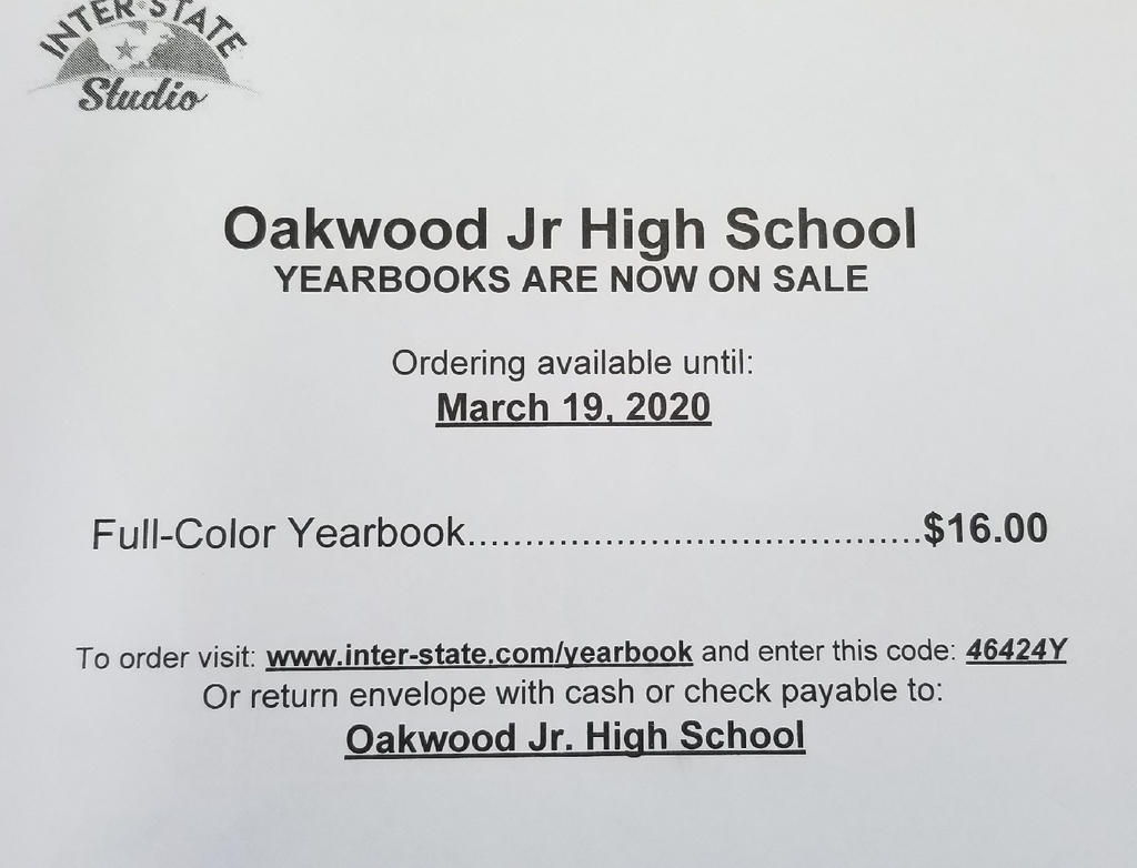 Yearbook Sale Info